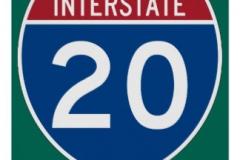interstate_20_i_20_highway_sign_poster-r1